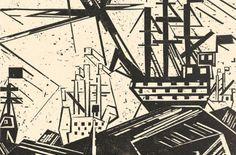 Becoming A Bauhaus Artist. Lyonel Feininger. Woodcuts / Exhibition 25.01. - 11.05.2014 Kunsthalle Emden