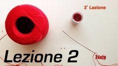 Kézimunka augusztus - 1˚ lecke bemutatója Node Pippiolino frivolitás Hogyan csináld magad DIY Bijoux - YouTube