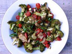 balsamic-roasted broccoli and cherry tomatoes   pamela salzman
