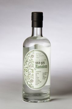 Ransom Dry Gin, made in style of Dutch malt genevers