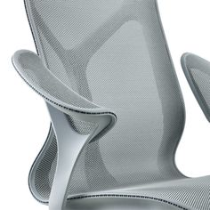 Cosm Chair, Leaf Arms and Intercept Suspension - Herman Miller Cool Desk Chairs, Leather Dining Room Chairs, Dining Chairs, 3d Interior Design, Interior Design Magazine, 3d Design, Design Furniture, Chair Design, Office Furniture