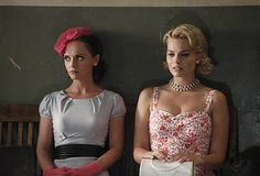 Pan Am - Christina Ricci & Margot Robbie Fashion Tv, 1960s Fashion, Star Fashion, Vintage Fashion, Fashion Looks, Vintage Tv, Fashion Styles, Vintage Style, Pan Am