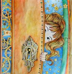 Coloring by Betty Hung - colorart.ca | Book: Time Chamber by Daria Song