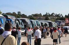 Visita do Papa a Fátima esgota autocarros e inflaciona preços do aluguer