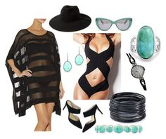 """""""Sophisticated Summer"""" by pbplaceme on Polyvore featuring Hervé Léger, Boden, ABS by Allen Schwartz, Rolex, MANGO, Prism, Liz Claiborne and Bling Jewelry"""