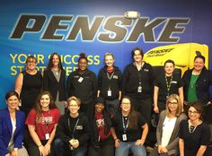 Penske Truck Leasing Encourages Female Truck Technicians to Enter Industry at UTI Exton Event Woman Mechanic, Global Supply Chain, Transportation Industry, Used Trucks, Moving Day, North America, Diesel, Encouragement, Female