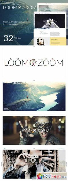 LoomZoom – 32Photography Template 587906