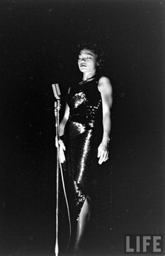 Eartha Kitt 1955 by George Silk