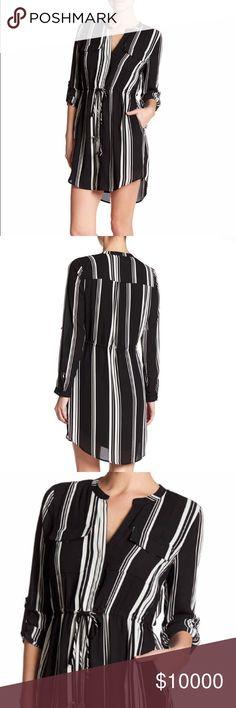Daniel Rain striped Dress Super cute stripped dress by Daniel Rainn. Daniel Rainn Dresses Long Sleeve
