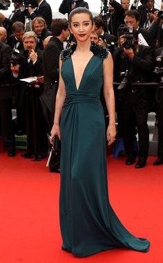 Cannes 2012 - Li Bing Bing in Gucci - Day 6 (montée des marches Vous n'avez encore rien vu)