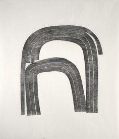 Anna Hepler, woodcut on Kozu