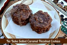 Mommy's Kitchen - Old Fashioned & Country Style Cooking: No Bake Salted Caramel Hazelnut Cookies {A New Addiction}