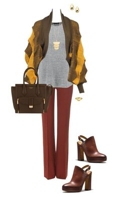 """Jill"" by ccoss ❤ liked on Polyvore featuring Chloé, rag & bone, Issey Miyake, Coach, Henri Bendel, Gorjana and Goldie Rox"