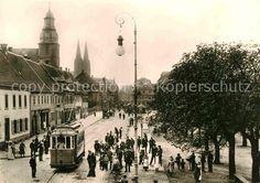 AK / Ansichtskarte Pirmasens Metz Aufnahmen von 1905 Schlossstrasse Strassenbahn Kat. Pirmasens