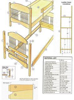 43 best free bunk bed plans images on pinterest bunk beds bunk