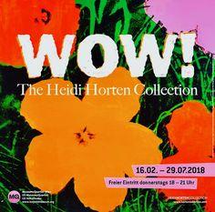 Wow! The Heidi Horten Collection im Leopold Museum in Wien.