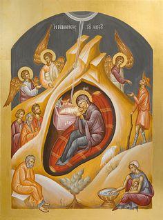Nativity of Christ www.ikonographics.net