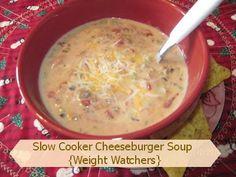 Crock Pot Cheeseburger Soup | The Better Baker