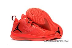 3a400d76ac4e Jordan Super.Fly 5 X Red Black Men s Basketball Shoes New Style