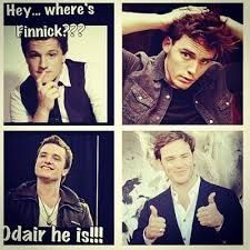Lol haha funny pics / pictures / Hunger Games Humor / Catching Fire / Peeta / Finnick