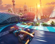 Etihad airways LowPoly World by Illustrator Mat Szulik