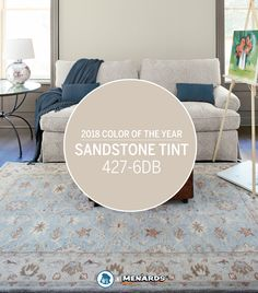 Embrace the future and give a nod to the past with the Dutch Boy® Color of the Year – Sandstone Tint 441-2DB. Perfectly balanced between warm and cool, it's the perfect neutral that can be used in any space throughout the home.