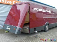 Porsche Truck, Porsche 356, Jacked Up Trucks, Big Trucks, Car Movers, Land Rover Camping, Automobile, Bug Out Vehicle, Car Carrier