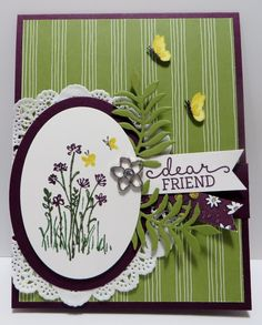 stampin up in the meadow - Google Search