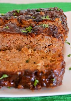 Spicy BBQ Turkey Meatloaf - Don't miss out on the best turkey meatloaf recipe you will find!! Click on this link -http://www.packmomma.com/spicy-bbq-turkey-meatloaf/