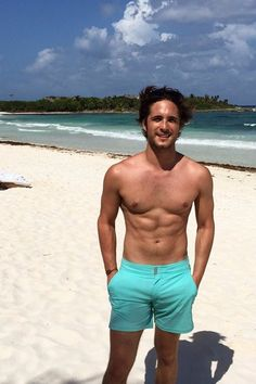 All the Times Diego Boneta Showed Off His Muscles on Instagram