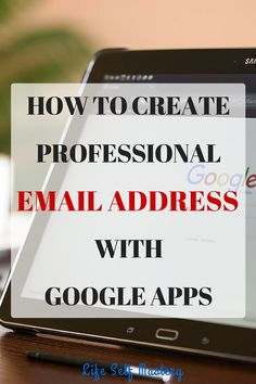 how to create my personal email address
