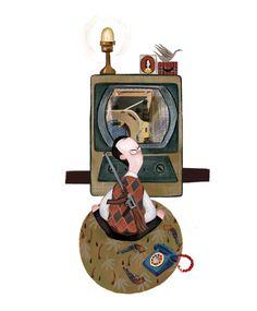 Charlie and the Chocolate Factory II by Júlia Sardà