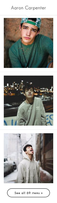 """""""Aaron Carpenter"""" by beingmyselfaf on Polyvore featuring magcon, magconboys, Aaroncarpenter, aaron carpenter, aaron, pictures, boys, ppl, people y magcon boys"""