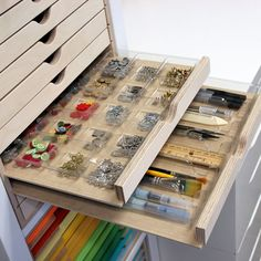 Stamp-n-Storage - Drawer Cabinet Accessory Tray, $4.00 (http://www.stampnstorage.com/drawer-cabinet-accessory-tray/)