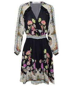 ETRO - Paisley and Floral Printed Silk Dress