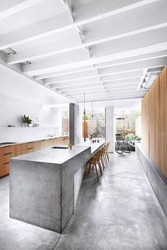 This time we are looking into concrete kitchens, and you won't believe the good ideas we found, so do stick around and take a look at our gallery.
