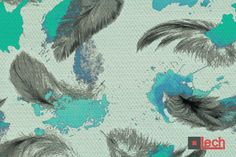 kolejna odsłona jednego z naszych sekretów, tym razem w odcieniach turkusu! Więcej wzorów na http://www.lech-tkaniny.pl/oferta/nadruk-tkanin/secret/ #LECH #modern #fabrics #tkaniny #nadruk