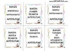 NİYET KARTLARI