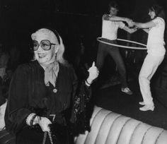Ginger Rogers at Studio 54