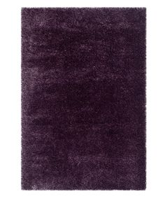 Look at this Purple Winnie Shag Rug on #zulily today!