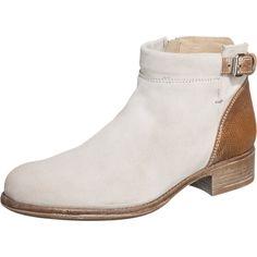 #MANAS #Damen #Carolina #Stiefeletten #beige / #weiß - Diese schlicht eleganten…