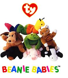 Ty Beanie Babies! Collected ALL of these.