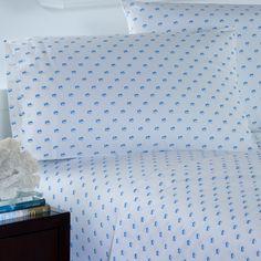 Skipjack Printed Cotton Pillowcase