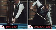 Jump Shot Grips Dart Grip or American Grip