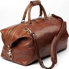 Allen Edmonds Strand Duffel Bag: US$695.