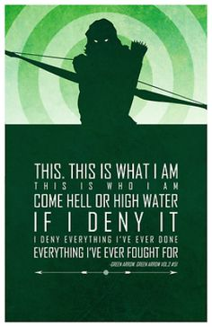 Heroic Words of Wisdom by Adam Thompson (DC Comics / Superheroes / Green Arrow / Oliver Queen) Dc Comics Superheroes, Bd Comics, Marvel Dc Comics, Green Arrow, Catwoman, Infinity War, Comic Book Characters, Comic Books, Comic Art