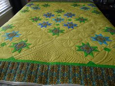 I dew quilting: Barbara's finished quilt