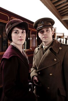 Downton Abbey Season 2: Lady Mary and Matthew Crawley