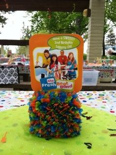 Fresh Beat Band Centerpiece