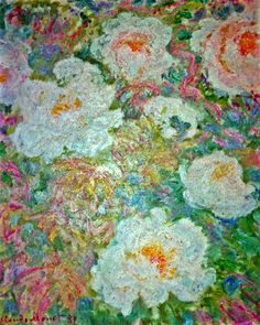 Bouquet de pivoines (C Monet - W 1143),1887.